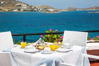 breakfast hippocampus hotel sea view
